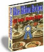 Blue Ribbon 490 Award Winning Recipes eBook on Cd