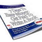 7 Days To Easy Money - Get Paid To Write An eBook on CD