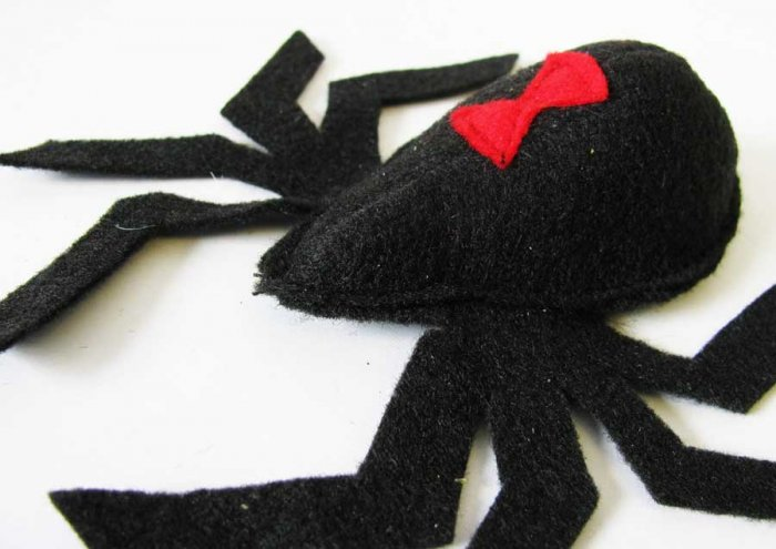 Catnip toy Spider