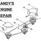 MTD DOUBLE PULLEY SPINDLE ASSEMBLY 618-0594 918-0596