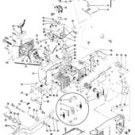 ENGINE gasket kit MCCULLOCH TIMBER BEAR EB 3.7 605 610