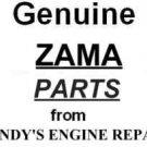 Zama 0031002 low speed mixture screw C1Q-S63, C1Q-S63A
