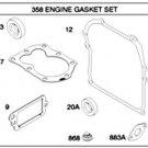 OEM Briggs and Stratton 794209 Engine Gasket Set Kit Sears, Craftsman 298989 New