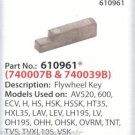 Genuine Tecumseh 610961 Flywheel Key Sears, Toro, Craftsman fits models listed