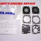 Zama GND 1 Gasket and Diaphragm Kit, For C1-M2B Carburetors