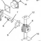 Piston RING Homelite VAC ATTACK BACKPACKER BBV25 D25MHA