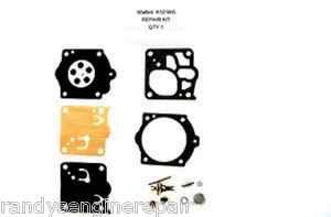 Walbro K12-WG Carb Carburetor Rebuild Repair Kit for Husqvarna 3120XP & 3120
