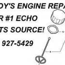 FUEL GAS CAP ECHO 13100455530 MODEL LIST GT TRIMMERS