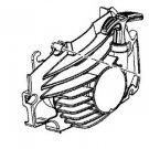310502001 - Homelite, Craftsman Starter Cover Assembly Genuine OEM New part