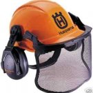 New Husqvarna Pro Forest Helmet System with Face Screen and Earmuffs 505675515