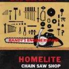 Homelite Sears XL12 Super XL SXLAO Service Information Maintenance Manual