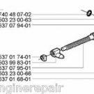 537044102 Husqvarna Chain Adjustment Tensioner Kit 537 04 41-02 New OEM