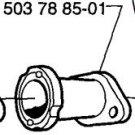 Husqvarna Rubber Intake Manifold Pipe 335 335XPT - HVP 537 19 30 02