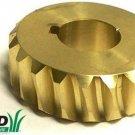 Mtd, Craftsman Auger Gearbox Worm Gear part # 917-0528A