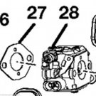 Homelite Ruixing 309360001 Carburetor Carb assy for some 46cc chainsaws RandysEn