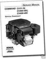 TP-2339-D KOHLER REPAIR Manual Models CV11-CV495 Engine