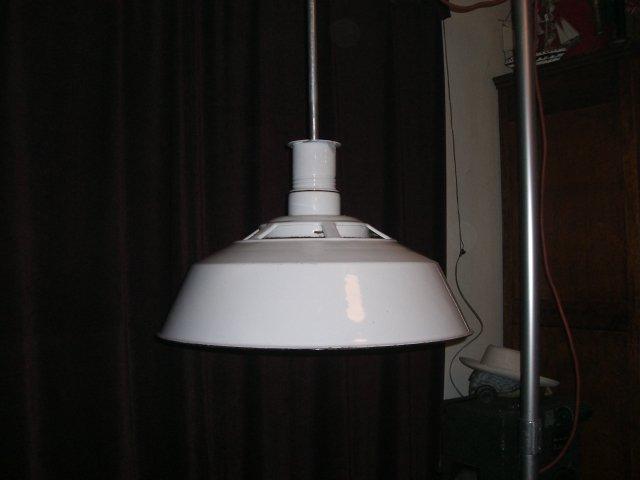 Huge Porcelain enamel pendant light fixtures