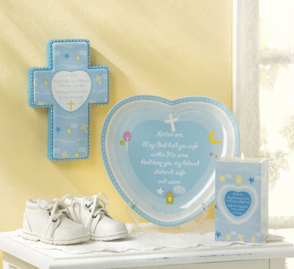 Baby Boy Blessing Set