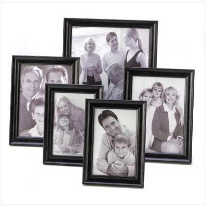5-Piece Photo Frame Set