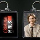 CRIMINAL MINDS Dr. Spencer Reid keychain / keyring MATTHEW GRAY GUBLER