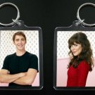 PUSHING DAISIES Ned and Chuck keychain keyring Lee Pace Anna Friel 3