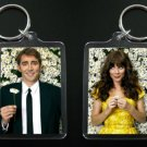PUSHING DAISIES Ned and Chuck keychain keyring Lee Pace Anna Friel