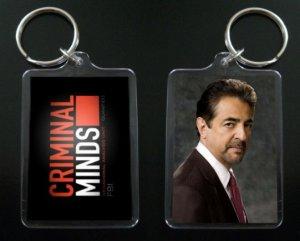 CRIMINAL MINDS Joe Mantegna Keychain DAVID ROSSI