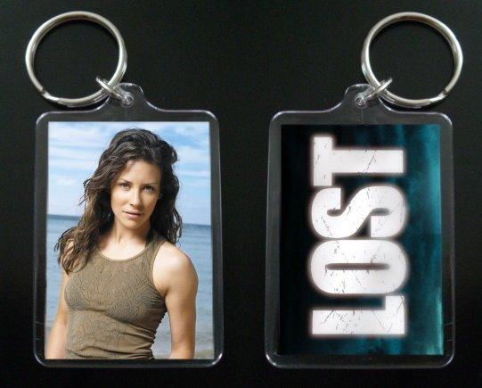 LOST keychain / keyring KATE AUSTEN Evangeline Lilly 2
