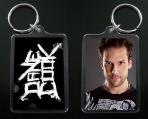 DANE COOK keychain / keyring Isolated Incident #3