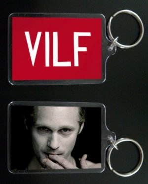 TRUE BLOOD keychain / keyring ERIC NORTHMAN Alexander Skarsgard
