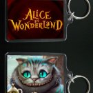 ALICE IN WONDERLAND keychain / keyring CHESHIRE CAT