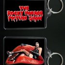 ROCKY HORROR PICTURE SHOW keychain / keyring TIM CURRY