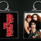 ROCKY HORROR PICTURE SHOW keychain / keyring TIM CURRY Frank N Furter Magenta Columbia