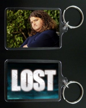 LOST HURLEY keychain / keyring HUGO REYES Jorge Garcia