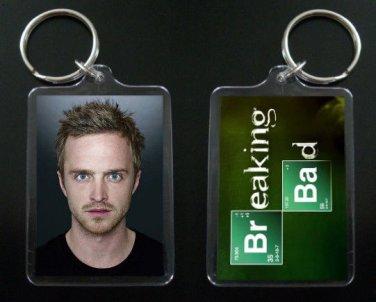 BREAKING BAD keychain / keyring Aaron Paul JESSE PINKMAN