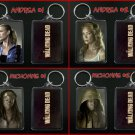 THE WALKING DEAD keychain / keyring ANDREA & MICHONNE - CHOOSE FROM 4 DESIGNS