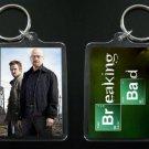 BREAKING BAD keychain / keyring Aaron Paul Bryan Cranston JESSE & WALTER WHITE 3