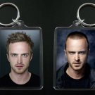 BREAKING BAD keychain / keyring Aaron Paul JESSE PINKMAN before/after