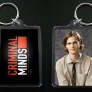 CRIMINAL MINDS keychain / keyring SPENCER REID Matthew Gray Gubler