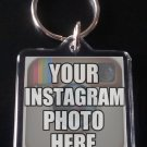 Your Personal INSTAGRAM photos on a custom KEYCHAIN / KEYRING