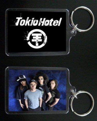 BILL AND TOM KAULITZ keychain / keyring TOKIO HOTEL