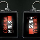 CRIMINAL MINDS two-sided keychain / keyring #1