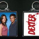 DEB & DEXTER MORGAN keychain / keyring Michael C Hall Jennifer Carpenter