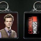 CRIMINAL MINDS keychain / keyring SPENCER REID Matthew Gray Gubler 13