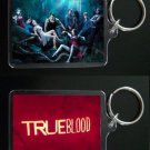 TRUE BLOOD keychain / keyring SOOKIE STACKHOUSE Eric Northman Bill Compton