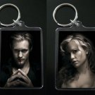 TRUE BLOOD keychain keyring ERIC NORTHMAN and SOOKIE STACKHOUSE
