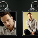 ANDREW LINCOLN keychain / keyring THE WALKING DEAD Rick Grimes