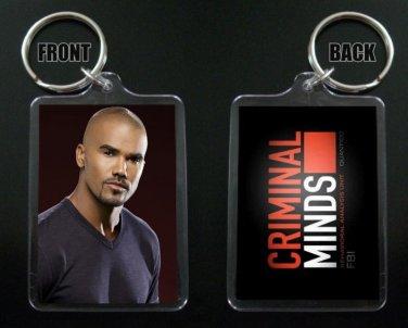 CRIMINAL MINDS keychain / keyring DEREK MORGAN Shemar Moore 7
