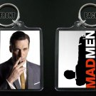 MAD MEN keychain / keyring  DON DRAPER Jon Hamm