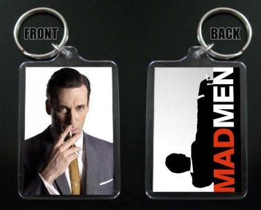 MAD MEN keychain / keyring  DON DRAPER Jon Hamm